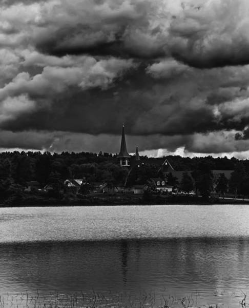 Wall Art - Photograph - Storm Clouds Over Weyauwega by Thomas Young