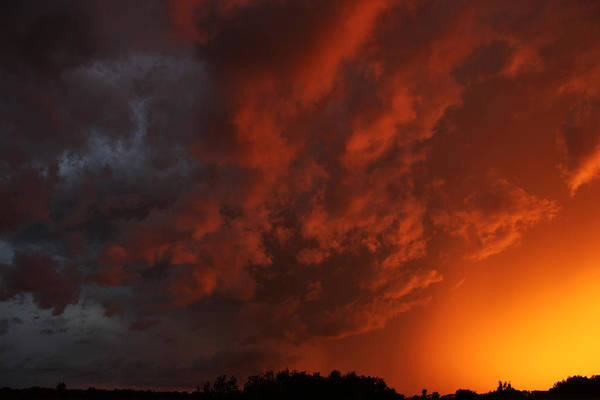 Photograph - Storm Clouds Over Yorkton II by Ryan Crouse