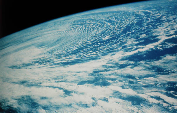 Wall Art - Photograph - Storm Clouds Photographed From Space Shuttle by Nasa/science Photo Library