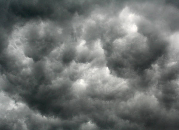 Photograph - Storm Clouds by William Selander