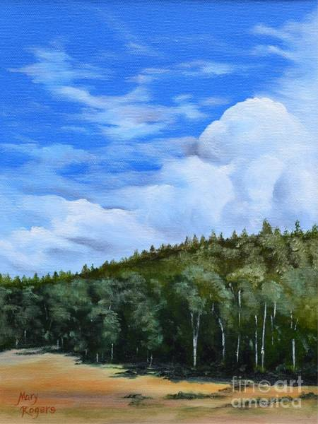 Mary Rogers Painting - Storm Comin' In by Mary Rogers