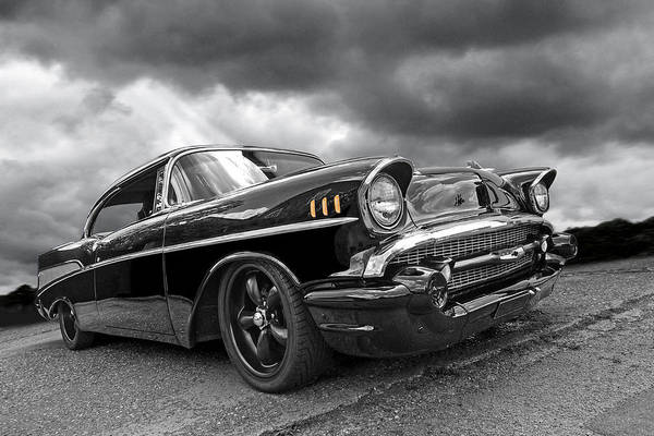 Photograph - Storm Cruiser - 57 Chevy by Gill Billington