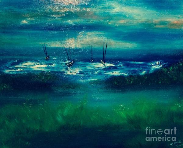 Painting - Storm by Denise Tomasura