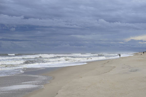 Photograph - Storm Fishing  by Terry DeLuco