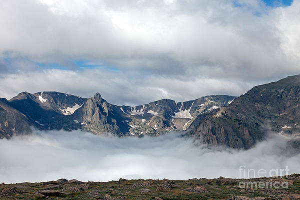 Photograph - Storm In Forest Canyon In Rocky Mountain National Park by Fred Stearns
