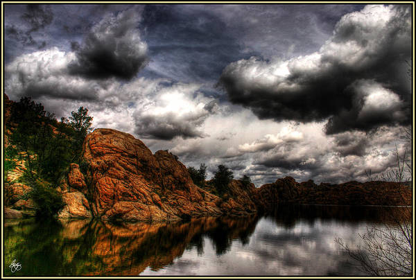 Photograph - Storm In The Dells by Wayne King
