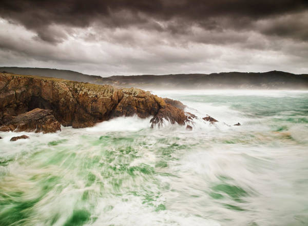 Storm Photograph - Storm In The Galician Coast by Ramón Espelt Photography