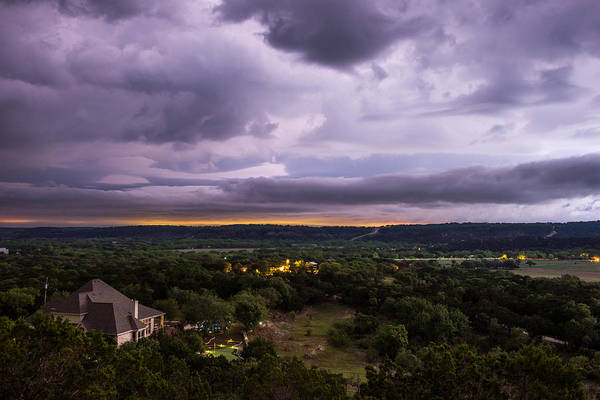 Photograph - Storm In The Valley by Darryl Dalton