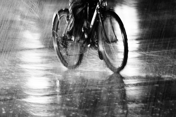 Wet Wall Art - Photograph - Storm by Jian Wang