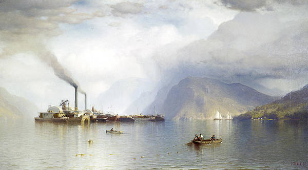 Wall Art - Painting - Storm King On The Hudson by Granger