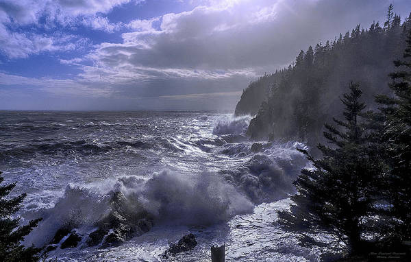 Wall Art - Photograph - Storm Lifting At Gulliver's Hole by Marty Saccone