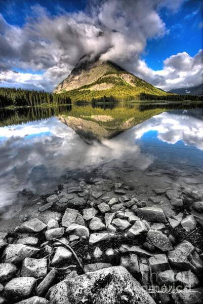 Photograph - Storm Mountain II by David Andersen