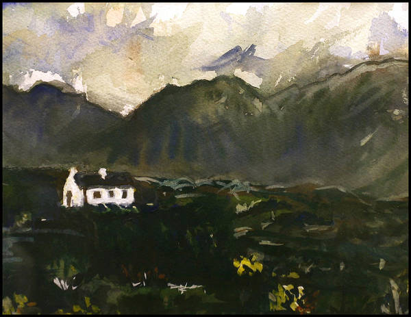 Painting - Storm Over Connemara  by Paul Sutcliffe