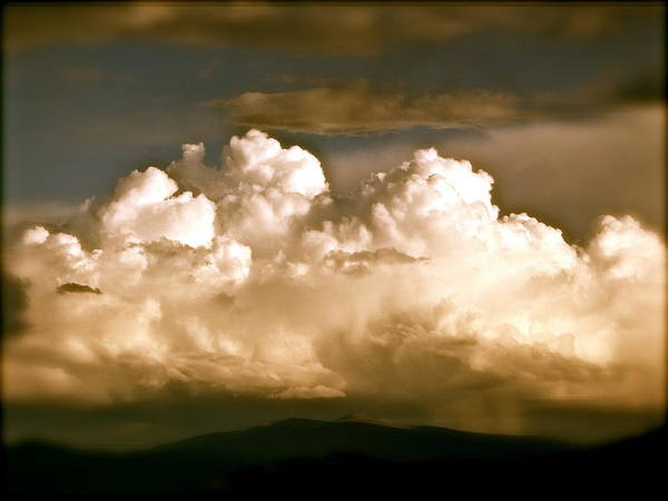 Storm Over Truchas Art Print