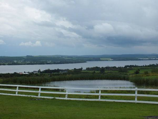 Aroostook County Photograph - Storm Over Long Lake by Gene Cyr