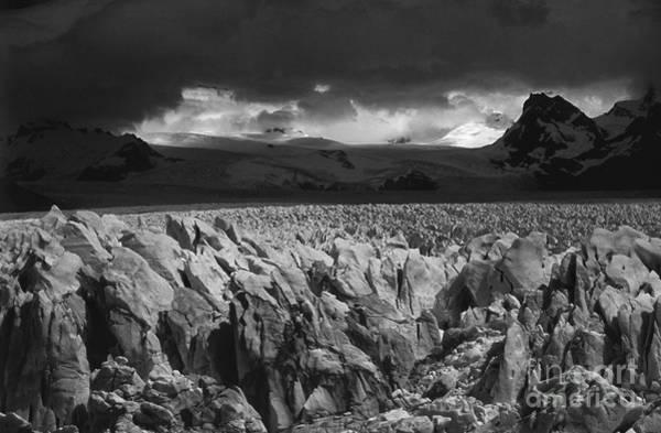 Photograph - Storm Over Perito Moreno Glacier by James Brunker