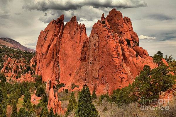 Photograph - Storm Over Red Rocks by Adam Jewell