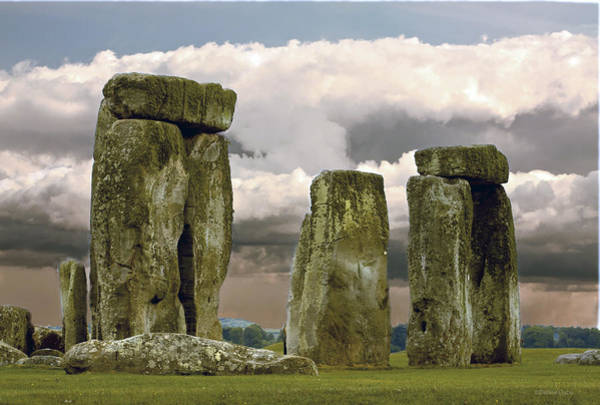 Photograph - Storm Over Stonehenge By Denise Dube by Denise Dube