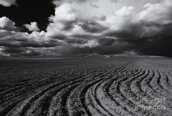 Plowing Photograph - Storm Path by Mike  Dawson