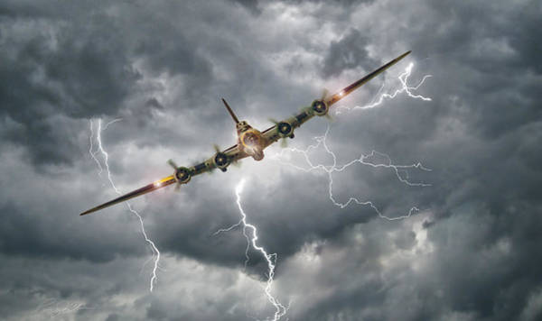 Battle Of Britain Digital Art - Storm Riders by Peter Chilelli