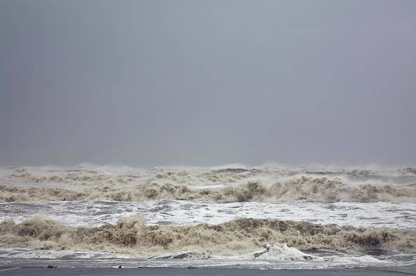 Tropical Cyclone Wall Art - Photograph - Storm Surge by Roger Hill/science Photo Library