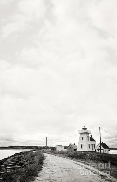 Photograph - Storm Threatening A Coastal Town by Edward Fielding