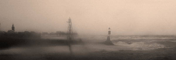 Wall Art - Photograph - storm Teignmouth by Clive Beake