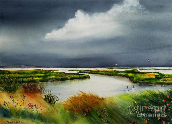 Painting - Storm Watch by Phyllis London