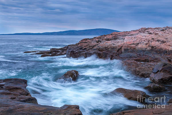 Photograph - Storm Waves At Schoodic Point by Susan Cole Kelly
