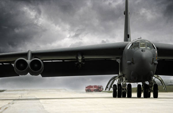 Wall Art - Photograph - Stormfront B-52 by Peter Chilelli
