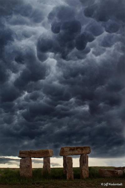 Stormhenge Art Print