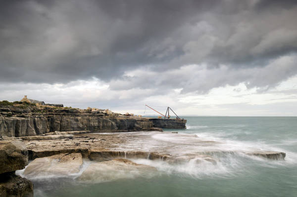 Wall Art - Photograph - Storms At Portland Bill by Chris Frost