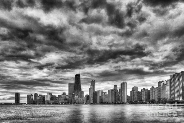 Expanse Photograph - Storms Over Chicago by Margie Hurwich