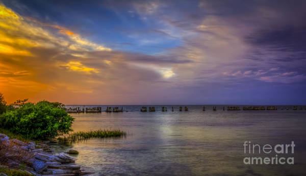 Gandy Wall Art - Photograph - Storms Rolling In by Marvin Spates