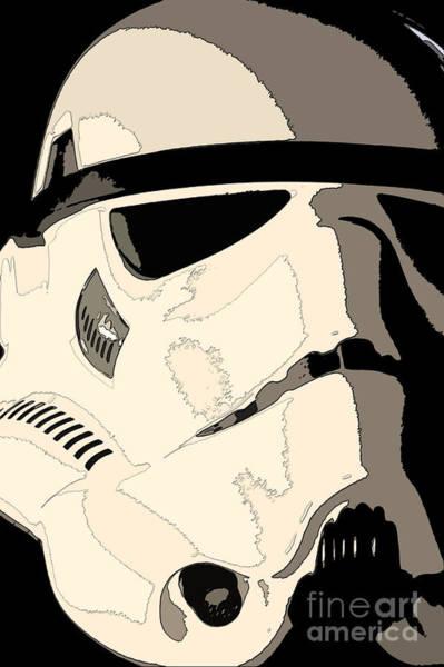 Star Wars Wall Art - Photograph - Stormtrooper Helmet 103 by Micah May