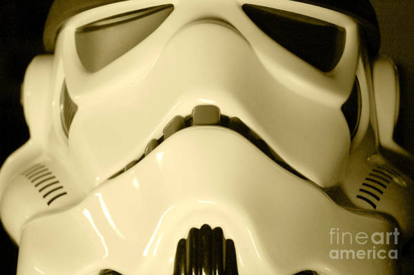 Star Wars Wall Art - Photograph - Stormtrooper Helmet 104 by Micah May