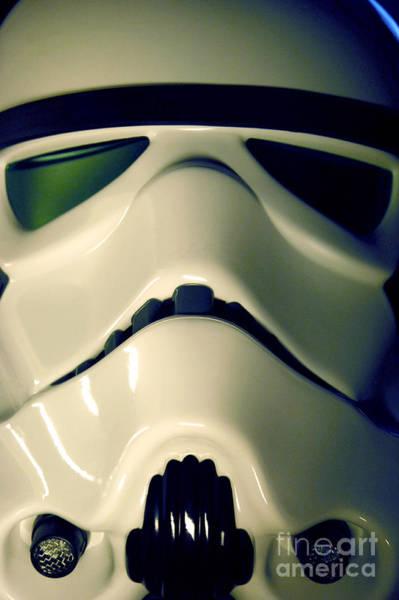 Star Wars Wall Art - Photograph - Stormtrooper Helmet 106 by Micah May