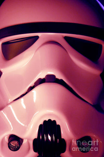 Star Wars Wall Art - Photograph - Stormtrooper Helmet 107 by Micah May