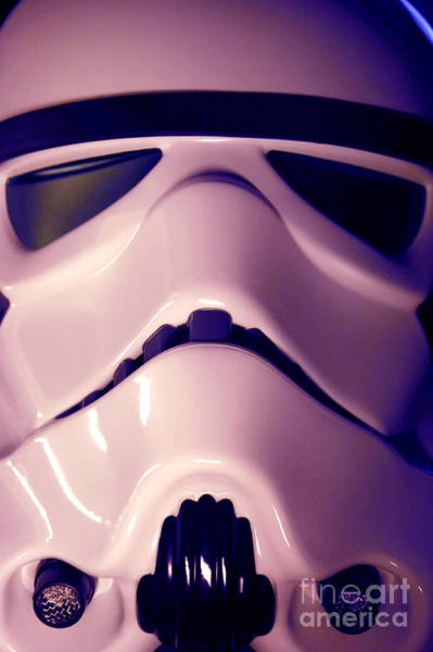 Star Wars Wall Art - Photograph - Stormtrooper Helmet 110 by Micah May