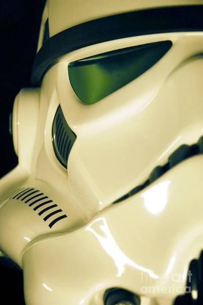 Star Wars Wall Art - Photograph - Stormtrooper Helmet 111 by Micah May