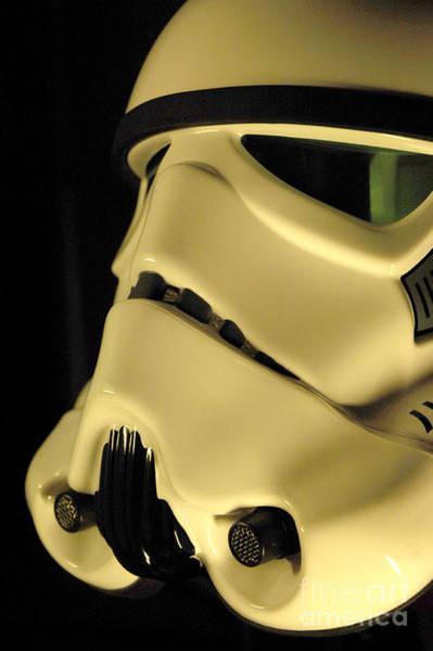 Star Wars Wall Art - Photograph - Stormtrooper Helmet 112 by Micah May