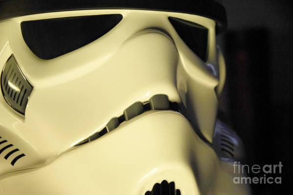 Star Wars Wall Art - Photograph - Stormtrooper Helmet 113 by Micah May