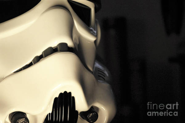 Star Wars Wall Art - Photograph - Stormtrooper Helmet 115 by Micah May
