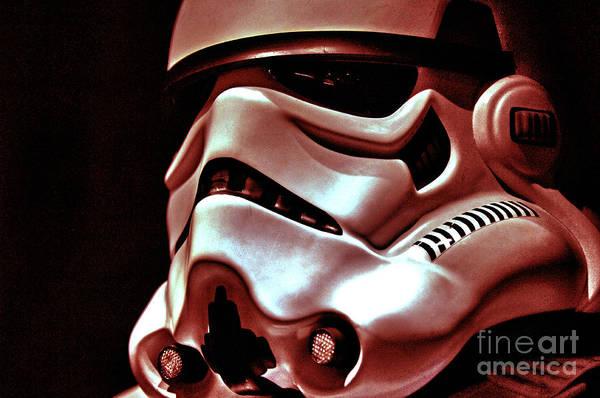 Star Wars Wall Art - Photograph - Stormtrooper Helmet 26 by Micah May