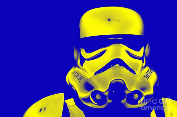 Star Wars Wall Art - Photograph - Stormtrooper Helmet 33 by Micah May