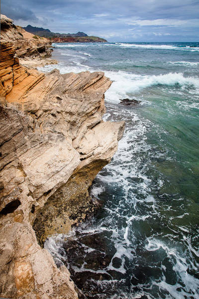 Photograph - Stormy Cliffs 6 by Tim Newton