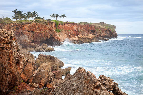 Photograph - Stormy Cliffs 7 by Tim Newton