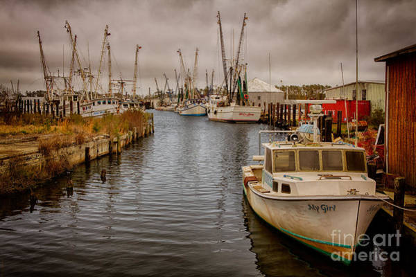 Wall Art - Photograph - Stormy Day At Englehard - Outer Banks I by Dan Carmichael