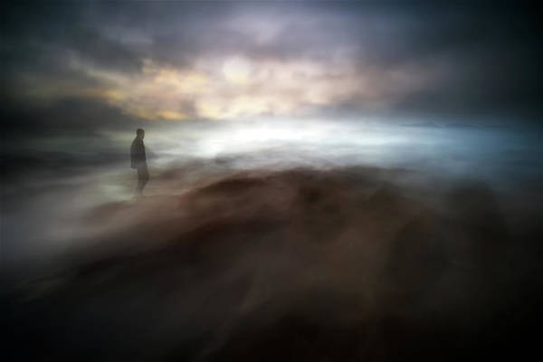 Transparent Wall Art - Photograph - Stormy Days In Nowhere by Santiago Pascual Buye