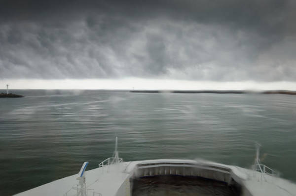 Photograph - Stormy Departure by Paul Indigo